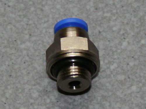 Pneumatik Einschraubverschraubung 1/8  4mm Schlauch.