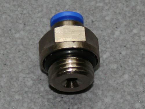 Pneumatik Einschraubverschraubung 1/4  4mm Schlauch.