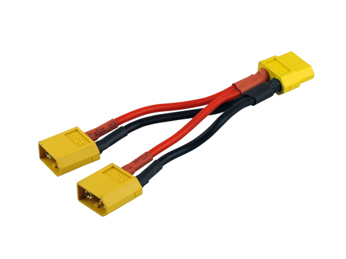 Paralleles Kabel 600141 YUKI MODEL Goldkontakt  XT60
