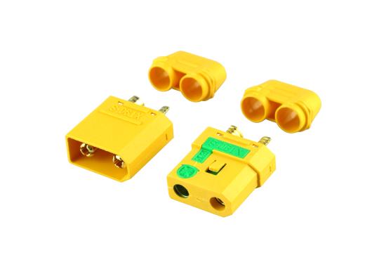 1 Paar Stecker + Buchse Goldkontakt  XT90-S Anti-Spark