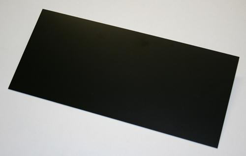 GFK-Platte schwarz 300 x 135 x 1,00 mm +/- 0,10 mm (0,0405 m²)