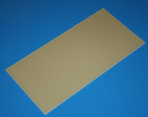 GFK-Platte 500 x 250 x 1,50 mm +/- 0,10 mm (0,125 m²)