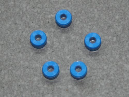 Anschlagringe 3.17 mm blau
