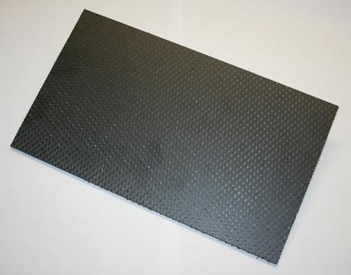CFK Wabenplatte 500 x 250 x 7,6 (0,125 m²)