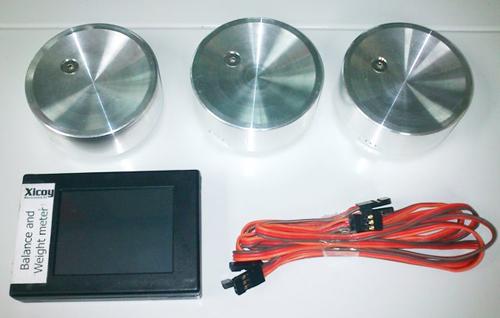 Digitale Gewicht- und Schwerpunkt-Waage PRO