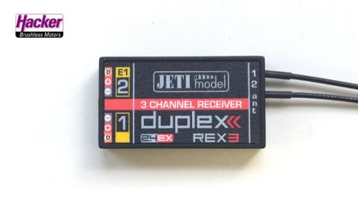 DUPLEX 2.4EX Empfänger REX 3