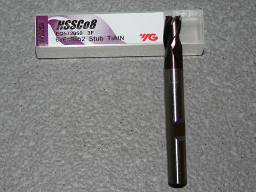 HSSE-CO8 - 3-Schneider - TiAIN - Ø 6.00mm