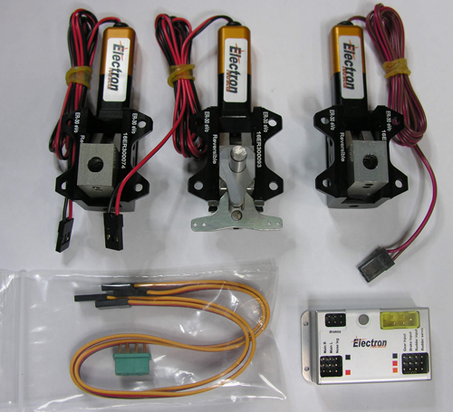 ER-40eVo set B (Electron steering system)