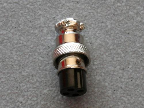 4 pol. Stecker/ Kupplung