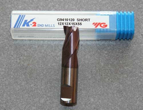 VHM 3-Schneider 12.00mm , kurz, K-2 beschichtet.