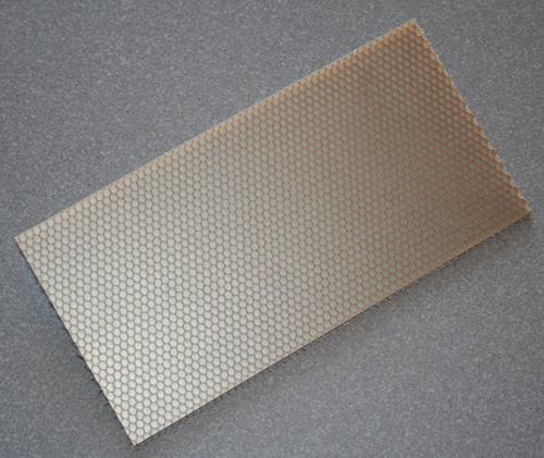 GFK Wabenplatte 500 x 250 x 4,3 (0,125 m²)