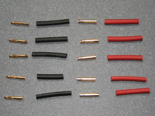 Yuki Model 600004 Goldkontakt Ø2,0mm 5 Paare