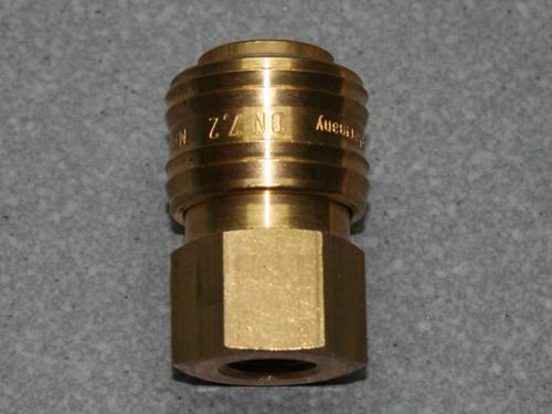 Kupplungsdose (NW7,2) G 1/4(IG), Messing