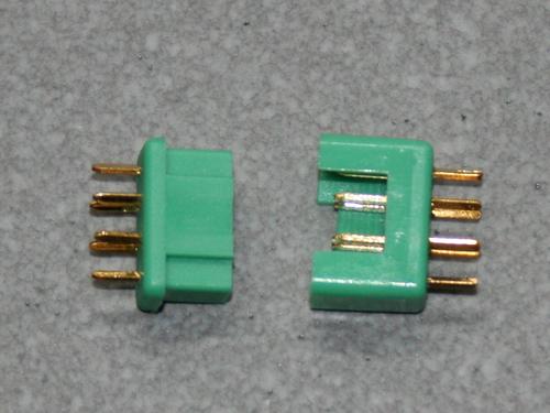 Yuki Model Goldkontakt kompatibel MULTIPLEX MPX 1 Paar
