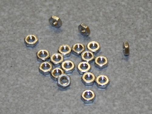 50 Muttern M3 DIN 934 A2