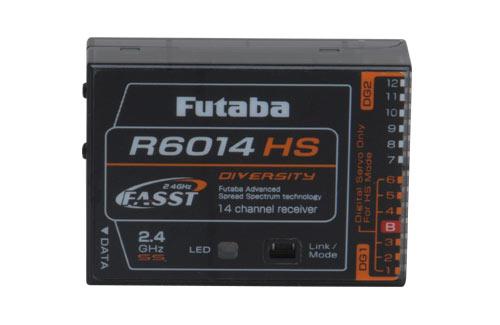 Empfänger R6014 HS 2,4 GHz, Futaba, Ripmax