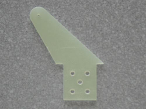 10 Ruderhörner RH65 in 2,00mm GFK