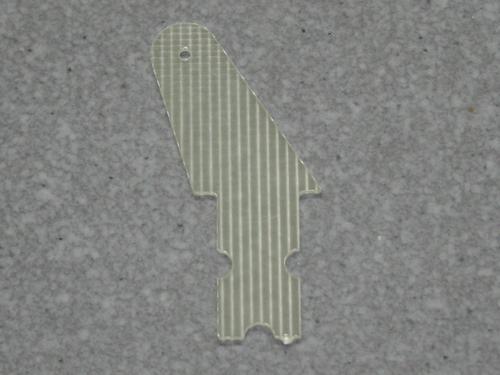 10 Ruderhörner 20 mm in 1 mm GFK
