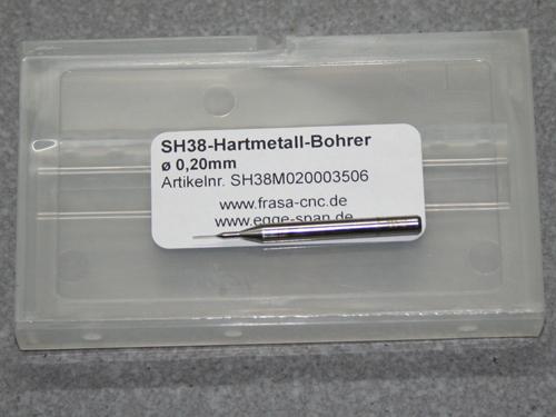 VHM Bohrer Micro Ø 0.20mm