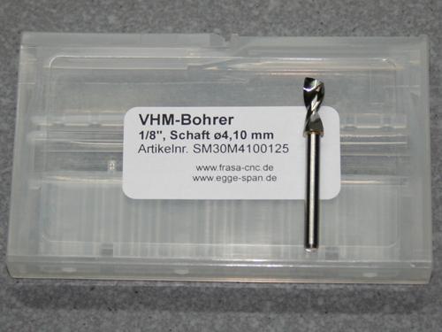 VHM-Bohrer mit 1/8 Schaft Ø 4.10mm