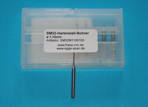 SM 32 Hartmetall-Bohrer Ø 1.10mm