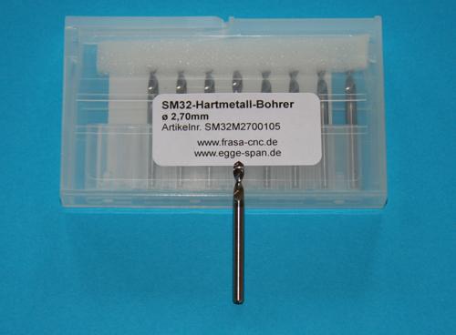 SM 32 Hartmetall-Bohrer Ø 2.70mm