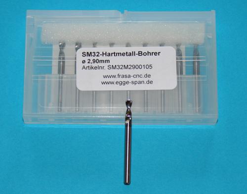 SM 32 Hartmetall-Bohrer Ø 2.90mm