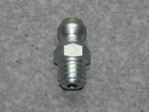 Gerader Kegelschmiernippel, M 6 (konisch), Stahl verzinkt