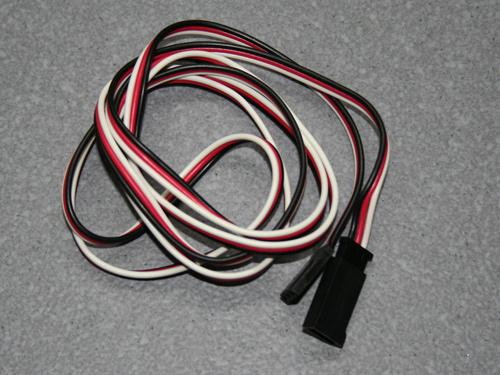 Servoverl.Kabel 0,3Qmmx1000 Gold