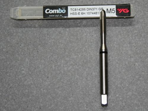 HSS-E, M5 Gewindebohrer ISO Gewinde DIN 13  für Aluminium
