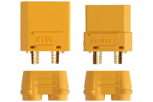 1 Paar Stecker + Buchse Goldkontakt XT90