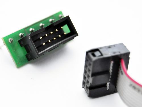 Endstufenadapter Leadshine auf Interface Platine mit Kabel