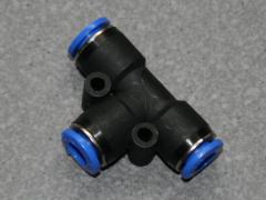 T-Verbinder 1/4  6mm Schlauch.