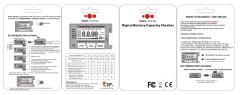 LiPo Checker 1-8s LiXX NiXX ESC Servo Tester Balancer