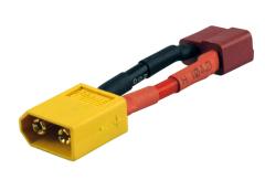 Adapter 600129 YUKI XT60 Stecker auf Dean Buchse