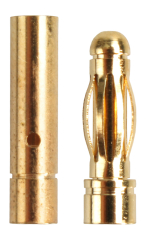5 Paar Stecker + Buchse Goldkontaktstecker Goldstecker 3 mm Lipo Akku