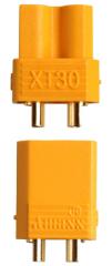 1 Paar Stecker + Buchse Goldkontakt XT30U