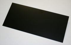 GFK-Platte schwarz 500 x 250 x 1,00 mm +/- 0,10 mm