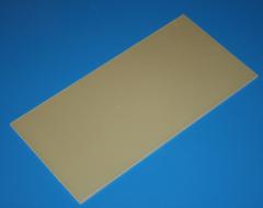 GFK-Platte 500 x 250 x 1,00 mm +/- 0,10 mm