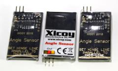 Angle sensors for CG meter (Ruder-Winkel Messer)