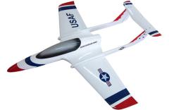 JSM Xcalibur Sport Jet Thunderbirds Set mit JSM Einziehfahrwerk (6-12Kg)