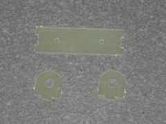 Halterung für Absperrhahn - 4mm Schlauch GFK