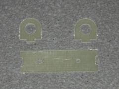 Halterung für Absperrhahn - 6mm Schlauch GFK