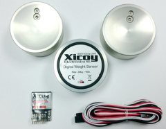 Digitale Gewicht- und Schwerpunkt-Waage (Bluetooth)