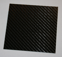 CFK Platte 100 x 100 x 2,0 ± 0,3 mm