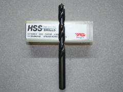 HSS, Spiralbohrer D=11,25 für Stahl, VA und Aluminium