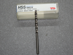 HSS, Spiralbohrer D=4,00 für Aluminium