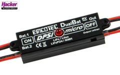 DPSI Micro DualBat 5.9V/7.2V MPX-2xMPX - Akkuweiche