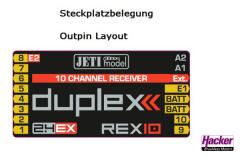 DUPLEX 2.4EX Empfänger REX 10