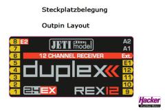 DUPLEX 2.4EX Empfänger REX 12